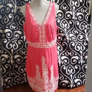Coral INC Sundress